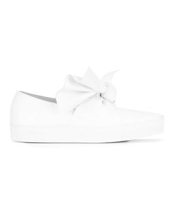 Cedric Charlier   Cédric Charlier Oversized Knot Sneakers 40 Leather/Rubber