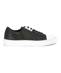 Neil Barrett | Perforated Sneakers 40 Leather/Rubber