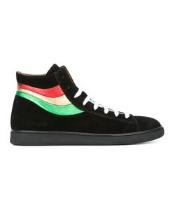 Marc Jacobs   Stripe Detail Sneakers 43 Suede/Leather/Rubber