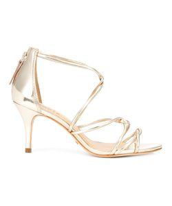 SCHUTZ | Troiann Sandals 9.5 Patent Leather/Leather