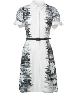 Carolina Herrera | Collar Dress 6 Cotton/Viscose