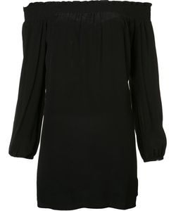 Nicole Miller | Off-Shoulders Shift Dress Small Silk/Polyester
