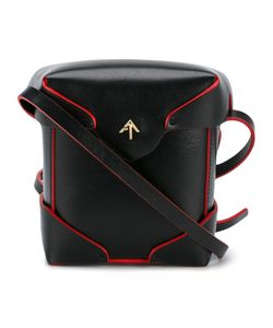 Manu Atelier | Micro Pristine Shoulder Bag Leather/Cotton