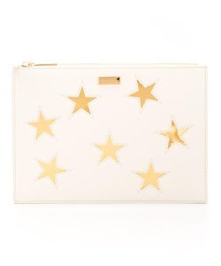 Stella Mccartney | Embroidered Star Clutch Bag Polyurethane
