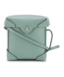 Manu Atelier | Mini Pristine Shoulder Bag Leather/Cotton