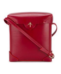 Manu Atelier | Pristine Shoulder Bag Leather/Cotton
