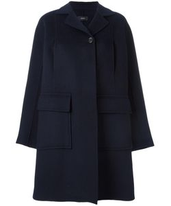 Joseph | Buttoned Up Coat 38 Wool/Cashmere/Viscose
