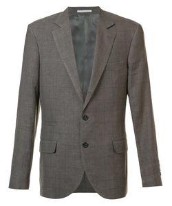 Brunello Cucinelli | Two-Buttons Notched Lapel Blazer 48 Wool/Linen/Flax/Silk