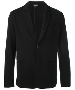 Emporio Armani | Button Up Blazer Medium Cotton/Spandex/Elastane