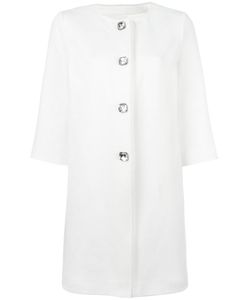 Ermanno Scervino | Three-Quarters Sleeve Coat 40 Cotton/Polyester