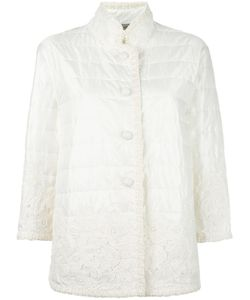 Ermanno Scervino | Lace Detailing Quilted Jacket 40 Polyester/Polypropylene/Cotton/Viscose