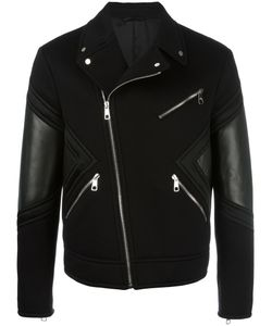 Neil Barrett | Biker Jacket Small Viscose/Leather/Polyester