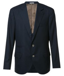 Brunello Cucinelli | Two-Buttons Notched Lapel Blazer 52 Wool/Silk