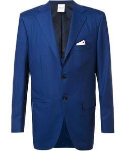 Kiton | Notched Lapel Blazer 50 Cashmere