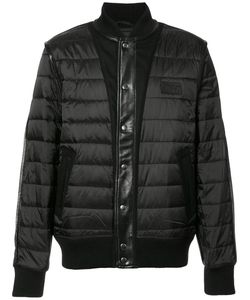 Prps | Quilted Bomber Xxl Nylon/Leather/Wool/Polyester