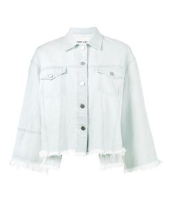Sandy Liang | Frayed Hem Denim Jacket 40 Cotton