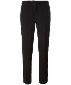 Ermanno Scervino | Slim-Fit Tailored Cropped Trousers 42 Acetate/Cupro/Viscose