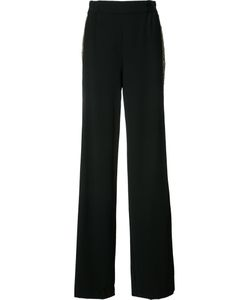 Alice + Olivia | Side Stripe Trousers 0 Polyester/Sequin