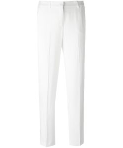 Ermanno Scervino | Slim-Fit Tailored Cropped Trousers 44 Acetate/Cupro/Viscose