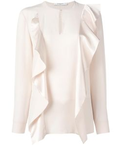 Givenchy | Ruffle Panel Blouse 36 Silk