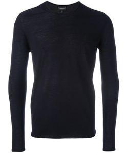 Emporio Armani   Plain Sweatshirt Medium Wool