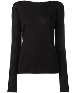 IRIS VON ARNIM | Classic Jumper Small Cashmere