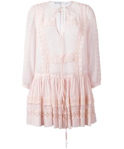 Givenchy | Broderie Anglaise Trim Top 34 Cotton/Silk