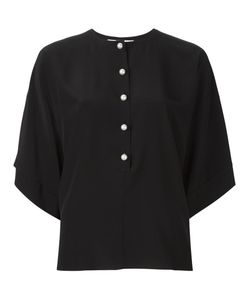 Givenchy | Button Placket Blouse 36 Silk