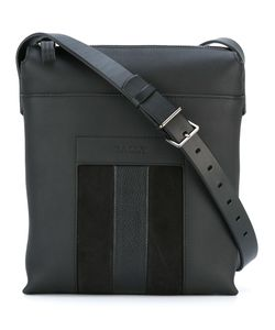 Bally | Stripe Detail Messenger Bag Calf Leather