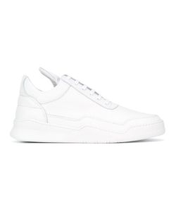 Filling Pieces | Paneled Hi-Tops 40 Leather/Rubber