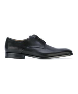 Giorgio Armani   Classic Derby Shoes 6 Calf Leather/Leather/Rubber