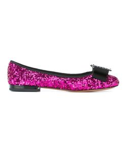 Marc Jacobs | Interlock Round Toe Ballerina Flats 37.5