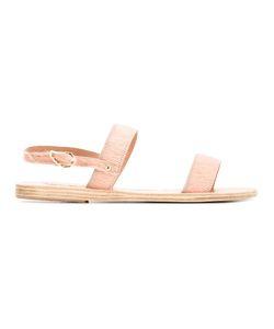 ANCIENT GREEK SANDALS   Clio Sandals 37 Calf Hair/Leather