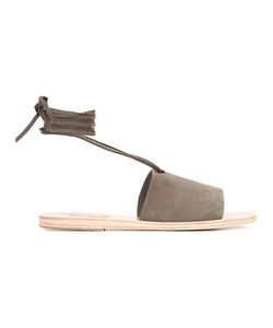 ANCIENT GREEK SANDALS | Christina Sandals 37 Nubuck Leather/Leather