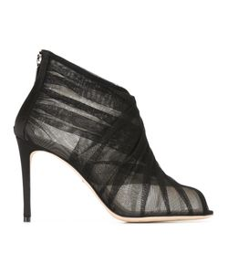 Dolce & Gabbana | Tulle Booties 39 Polyamide/Leather