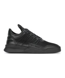 Filling Pieces | Paneled Sneakers 43 Leather/Polyester/Rubber