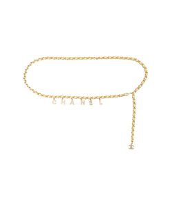 Chanel Vintage | Logo Charm Chain Belt
