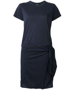 Rag & Bone | Asymmetric T-Shirt Dress Xs Silk/Lyocell/Cotton