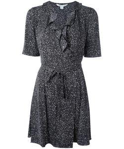 Diane Von Furstenberg | Belted Wrap Dress Size 6 Silk/Spandex/Elastane