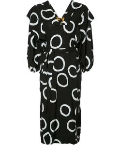 Vivienne Westwood Anglomania | Printed Belt Dress S/M Viscose