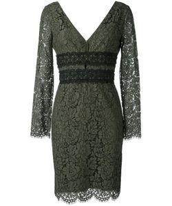 Diane Von Furstenberg | Deep V-Neck Lace Dress 10