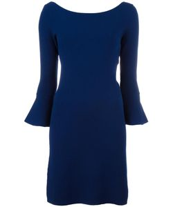 Twin-set | Bell Sleeve Dress Large Viscose/Polyamide