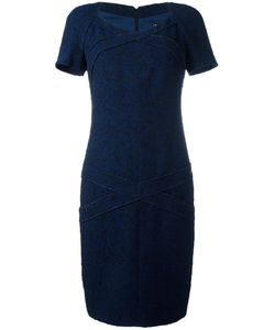 Chanel Vintage | Fitted Panel Dress 42