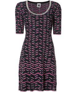 Missoni | M Printed Shift Dress 42 Polyester/Cotton/Polyamide/Viscose