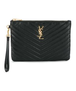 Saint Laurent | Monogram Matelassé Pouch Leather