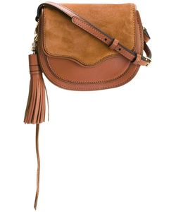 Rebecca Minkoff | Tassel Detail Saddle Bag Calf Leather