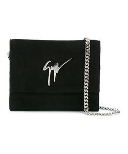Giuseppe Zanotti Design   Chain Strap Shoulder Bag Suede