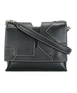 Jil Sander | Stitched Panel Cross-Body Bag Calf Leather