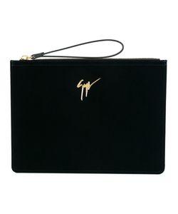 Giuseppe Zanotti Design   Velvet Clutch Velvet/Leather
