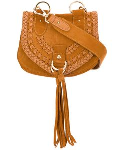 See By Chloe | See By Chloé Collins Crossbody Bag Calf Suede/Cotton
